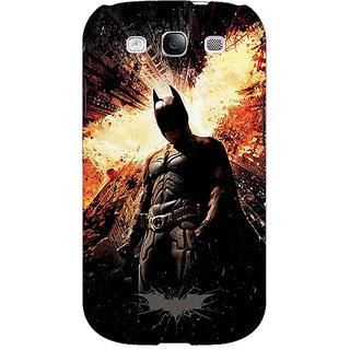 1 Crazy Designer Superheroes Batman Dark knight Back Cover Case For Samsung Galaxy S3 C50015