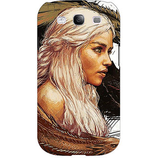 1 Crazy Designer Game Of Thrones GOT Khaleesi Daenerys Targaryen Back Cover Case For Samsung Galaxy S3 C51534