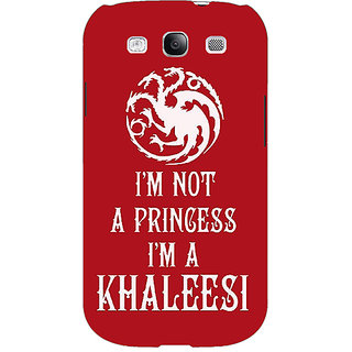1 Crazy Designer Game Of Thrones GOT Princess Khaleesi Back Cover Case For Samsung Galaxy S3 C51536