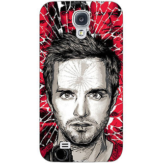 1 Crazy Designer Breaking Bad Back Cover Case For Samsung Galaxy S4 I9500 C60425