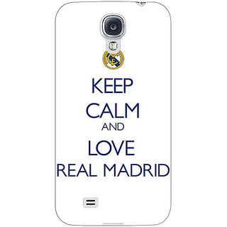 1 Crazy Designer Real Madrid Back Cover Case For Samsung Galaxy S4 I9500 C60600