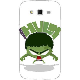 1 Crazy Designer Superheroes Hulk Back Cover Case For Samsung Galaxy Grand 2 C70323