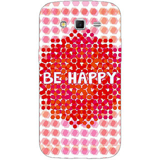 1 Crazy Designer Quotes Happy Back Cover Case For Samsung Galaxy Grand 2 C71154