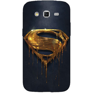 1 Crazy Designer Superheroes Superman Back Cover Case For Samsung Galaxy Grand 2 C70391