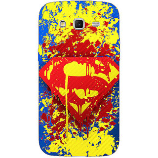 1 Crazy Designer Superheroes Superman Back Cover Case For Samsung Galaxy Grand 2 C70392