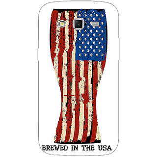 1 Crazy Designer USA Beer Back Cover Case For Samsung Galaxy Grand 2 C71213