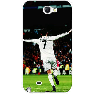 1 Crazy Designer Cristiano Ronaldo Real Madrid Back Cover Case For Samsung Galaxy Note 2 N7100 C80311