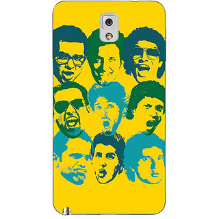 1 Crazy Designer Bollywood Superstar ZNMD Back Cover Case For Samsung Galaxy Note 3 N9000 C91099