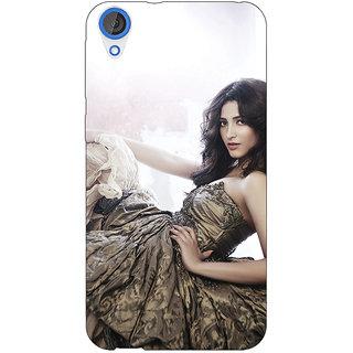 1 Crazy Designer Bollywood Superstar Shruti Hassan Back Cover Case For HTC Desire 820Q C291014