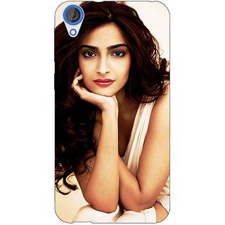 1 Crazy Designer Bollywood Superstar Sonam Kapoor Back Cover Case For HTC Desire 820Q C291016