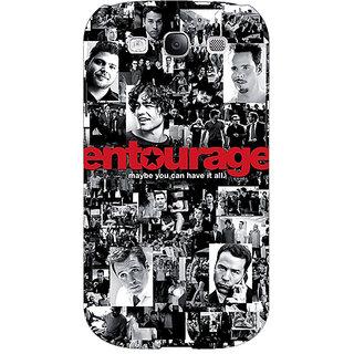 1 Crazy Designer Entourage Back Cover Case For Samsung Galaxy Grand Duos I9082 C100438