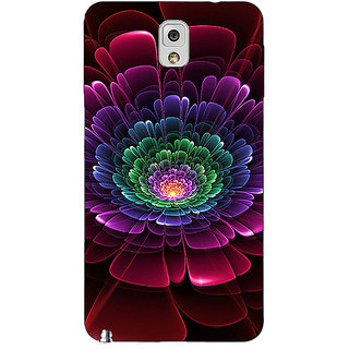 1 Crazy Designer Abstract Flower Pattern Back Cover Case For Samsung Galaxy Note 3 N9000 C91504