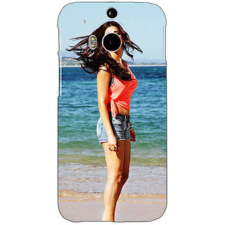 1 Crazy Designer Bollywood Superstar Shruti Hassan Back Cover Case For HTC One M8 C141013