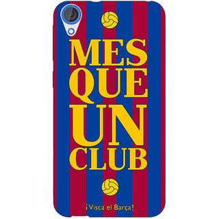 1 Crazy Designer Barcelona Back Cover Case For HTC Desire 820Q C290531