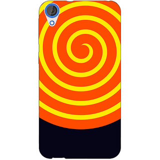 1 Crazy Designer Hippie Psychedelic Back Cover Case For HTC Desire 820Q C291272
