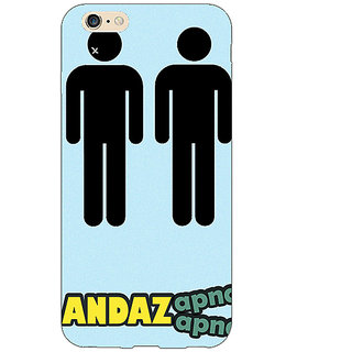 1 Crazy Designer Bollywood Superstar Andaz Apna Apna Back Cover Case For Apple iPhone 6 Plus C171080
