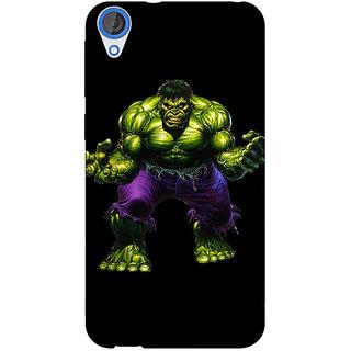 1 Crazy Designer Superheroes Hulk Back Cover Case For HTC Desire 820 Dual Sim C300327