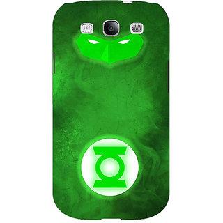 1 Crazy Designer Superheroes Green Lantern Back Cover Case For Samsung Galaxy S3 C50339