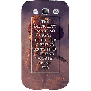 1 Crazy Designer LOTR Hobbit  Back Cover Case For Samsung Galaxy S3 C50367