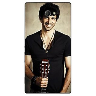 1 Crazy Designer Bollywood Superstar Aditya Roy Kapoor Back Cover Case For Sony Xperia M2 C310937