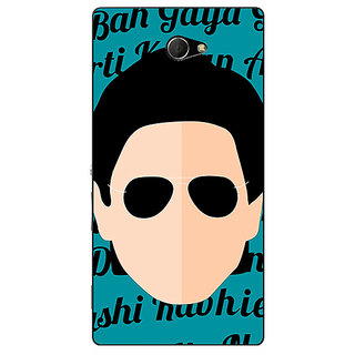 1 Crazy Designer Bollywood Superstar Shahrukh Khan Back Cover Case For Sony Xperia M2 Dual C321121