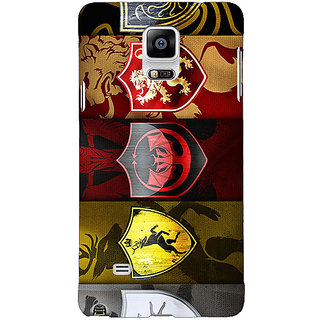 1 Crazy Designer Game Of Thrones GOT  Back Cover Case For Samsung Galaxy Note 4 C210119