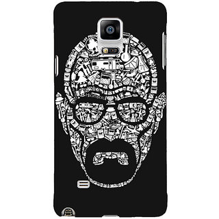 1 Crazy Designer Breaking Bad Heisenberg Back Cover Case For Samsung Galaxy Note 4 C210407
