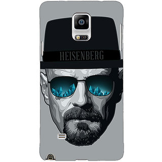 1 Crazy Designer Breaking Bad Heisenberg Back Cover Case For Samsung Galaxy Note 4 C210413