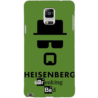 1 Crazy Designer Breaking Bad Heisenberg Back Cover Case For Samsung Galaxy Note 4 C210414
