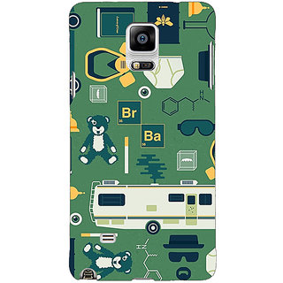 1 Crazy Designer Breaking Bad Back Cover Case For Samsung Galaxy Note 4 C210415