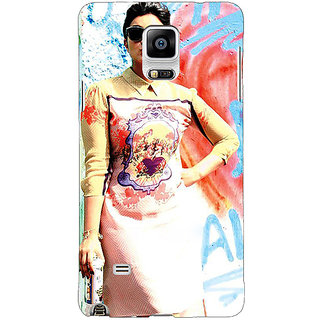 1 Crazy Designer Bollywood Superstar Parineeti Chopra Back Cover Case For Samsung Galaxy Note 4 C210978