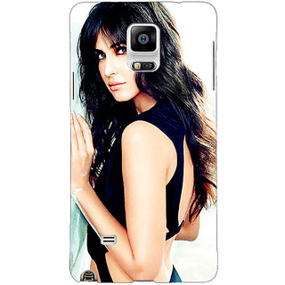 1 Crazy Designer Bollywood Superstar Katrina Kaif Back Cover Case For Samsung Galaxy Note 4 C210989