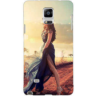 1 Crazy Designer Bollywood Superstar Jacqueline Fernandez Back Cover Case For Samsung Galaxy Note 4 C210990