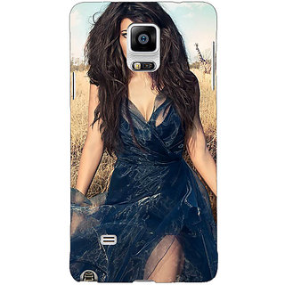 1 Crazy Designer Bollywood Superstar Jacqueline Fernandez Back Cover Case For Samsung Galaxy Note 4 C210992