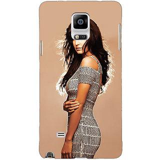 1 Crazy Designer Bollywood Superstar Katrina Kaif Back Cover Case For Samsung Galaxy Note 4 C210993