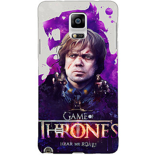1 Crazy Designer Game Of Thrones GOT House Lannister Tyrion Back Cover Case For Samsung Galaxy Note 4 C211546