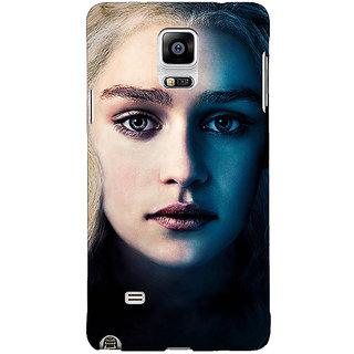 1 Crazy Designer Game Of Thrones GOT Khaleesi Daenerys Targaryen Back Cover Case For Samsung Galaxy Note 4 C211551