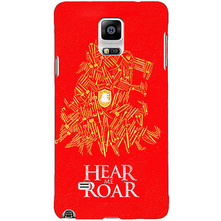 1 Crazy Designer Game Of Thrones GOT House Lannister Tyrion Back Cover Case For Samsung Galaxy Note 4 C211558