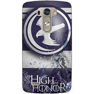 1 Crazy Designer Game Of Thrones GOT Arryn Back Cover Case For Lg G3 D855 C221532