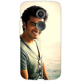1 Crazy Designer Bollywood Superstar Arjun Kapoor Back Cover Case For Moto X (2nd Gen) C230938