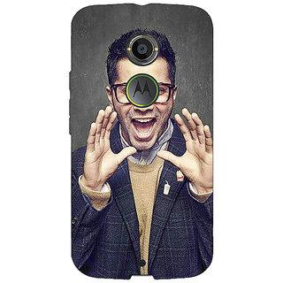 1 Crazy Designer Bollywood Superstar Varun Dhawan Back Cover Case For Moto X (2nd Gen) C230946
