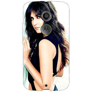 1 Crazy Designer Bollywood Superstar Katrina Kaif Back Cover Case For Moto X (2nd Gen) C230989