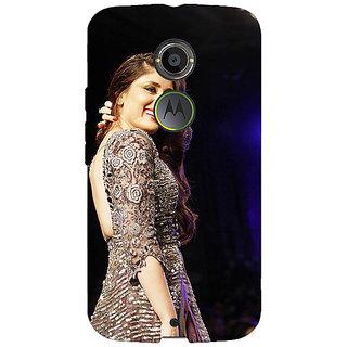 1 Crazy Designer Bollywood Superstar Kareena Kapoor Back Cover Case For Moto X (2nd Gen) C231004