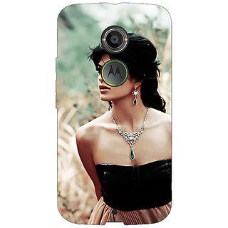 1 Crazy Designer Bollywood Superstar Jacqueline Fernandez Back Cover Case For Moto X (2nd Gen) C231006