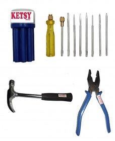 Ketsy 553 Home Hand Tools Kit 11 Pcs