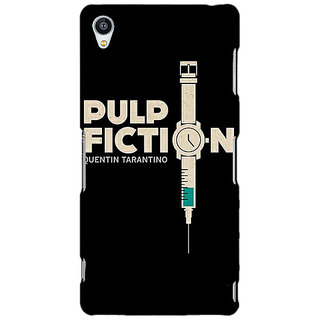 1 Crazy Designer Pulp Fiction Back Cover Case For Sony Xperia Z3 C260352