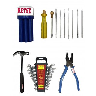 Ketsy 555 Home Tools Kit 19 Pcs