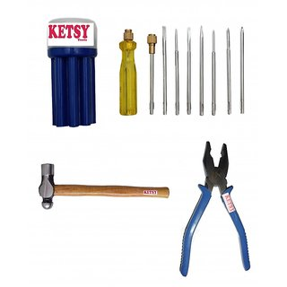 Ketsy 556 Hand Tools Kit 11 Pcs