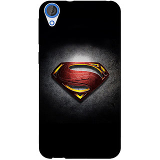 1 Crazy Designer Superheroes Superman Back Cover Case For HTC Desire 820 C280037