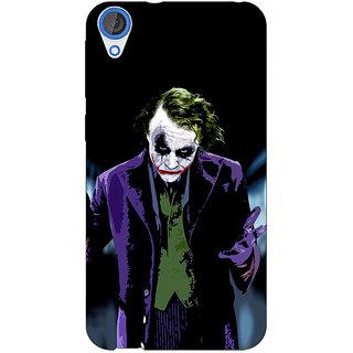 1 Crazy Designer Villain Joker Back Cover Case For HTC Desire 820 C280045